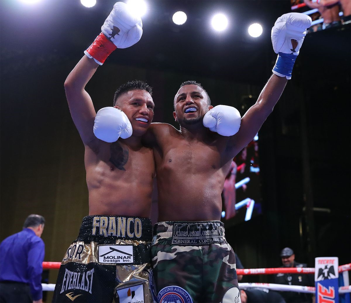 Franco retains his WBA-International belt in a draw against Negrete