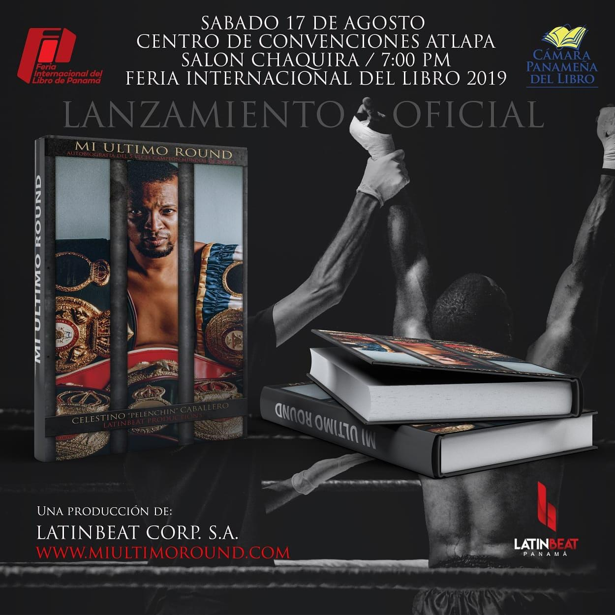 """""""Pelenchin"""" Caballero will launch his autobiography on August 17th"""