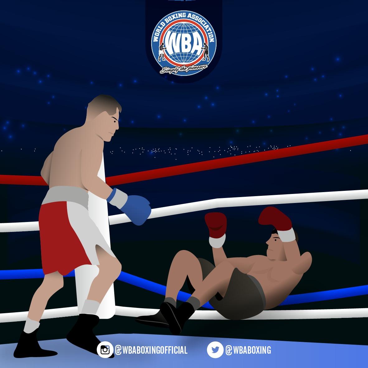 ¿Qué hacer cuando uno de los boxeadores cae fuera del ring?