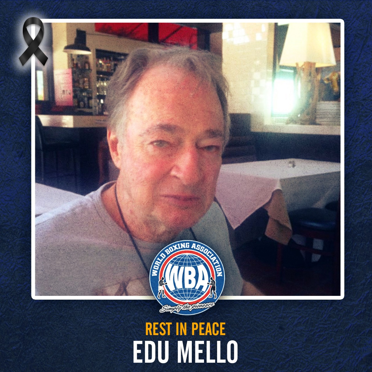 WBA mourns the death of promoter Edu Mello
