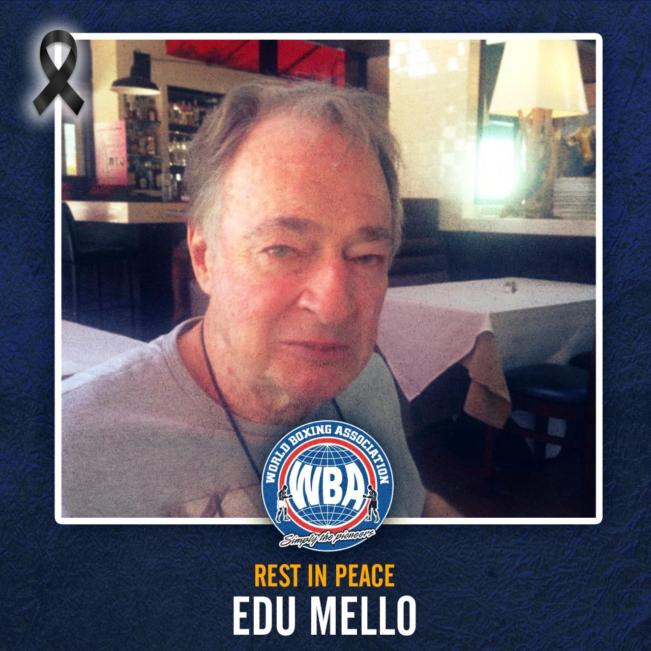 WBA mourns the death of promoter Edu Mello