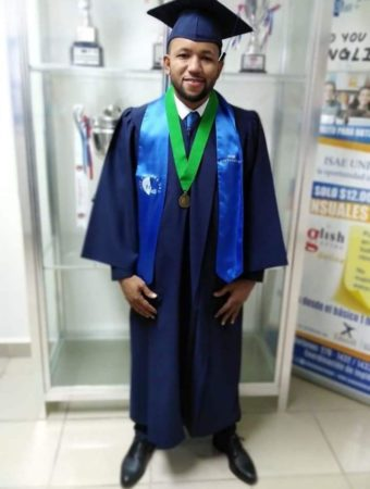 "WBA congratulates ""Maestrito"" Cordoba for his degree in Political Science"
