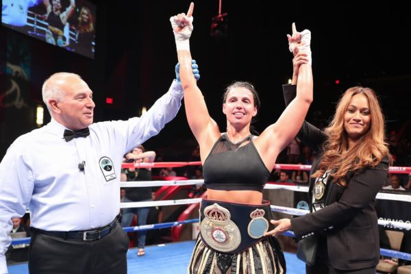 Alicia Napoleon is the WBA Female Fighter of the Month