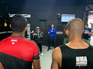 WBA gives boxing talk in Medellin with Jorge Zerpa