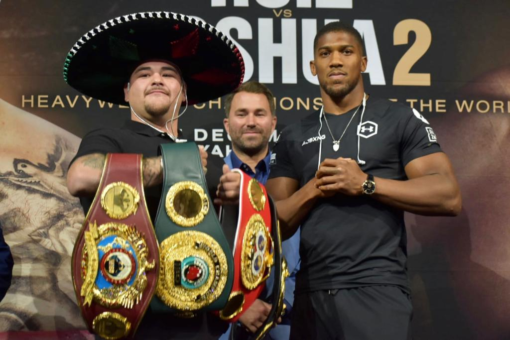 Andy Ruiz and Anthony Joshua presented the electrifying battle of December 7th in New York