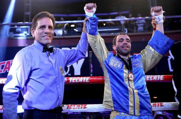 Hovhannisyan beats Manzanilla by knockout in Los Angeles