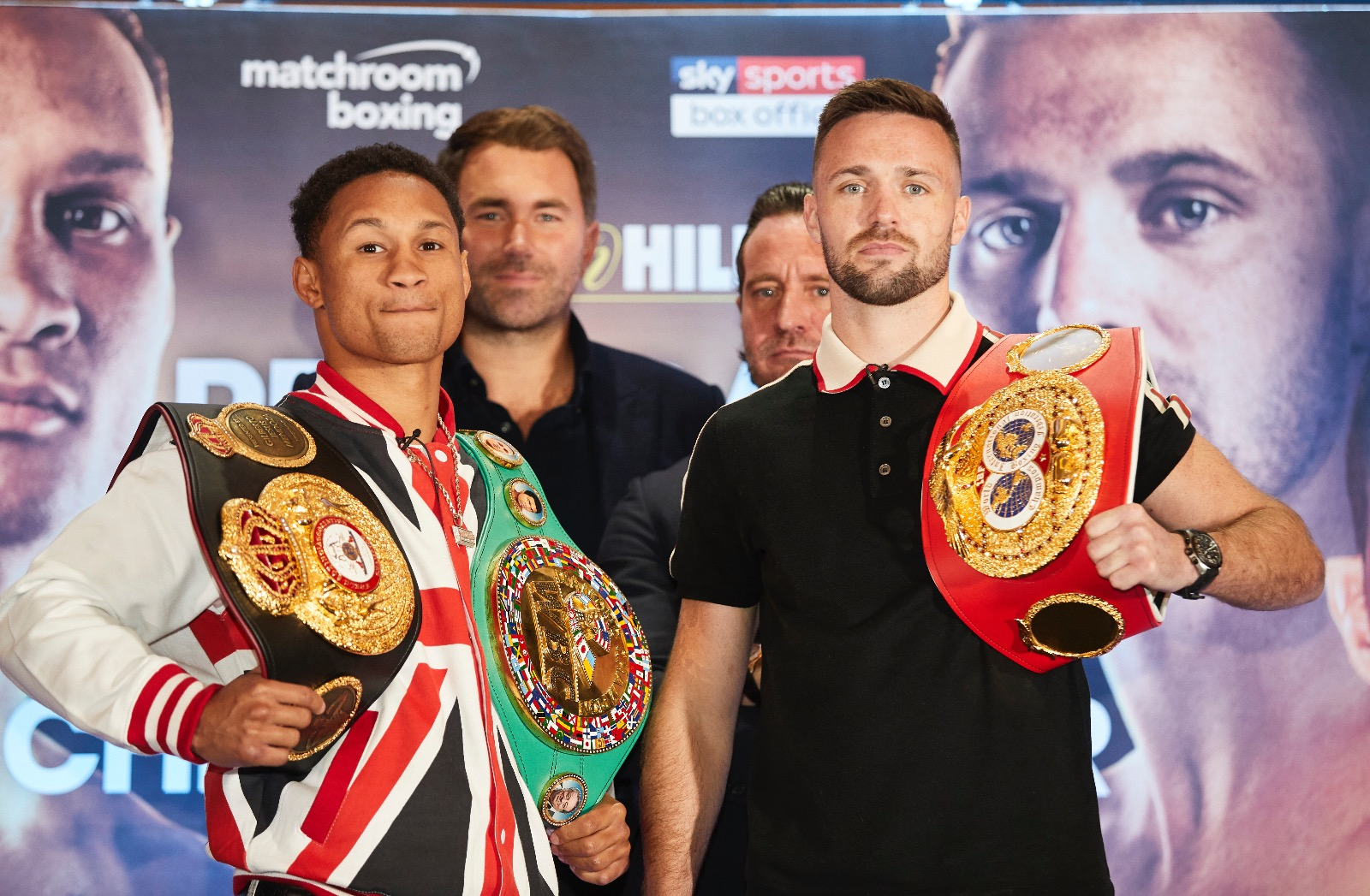 Prograis and Taylor present their fight in England