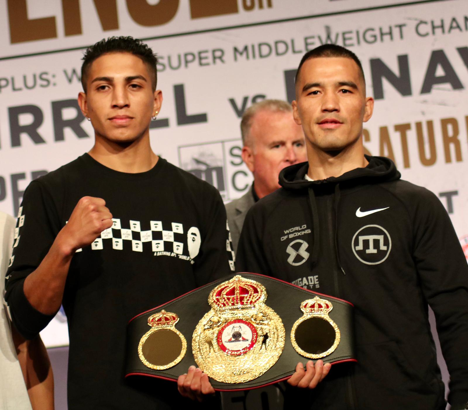 Barrios and Akhmedov promise a war in Los Angeles