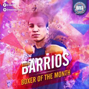 Mario Barrios– Boxeador del mes de septiembre 2019