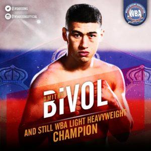 Bivol retains his WBA World Light Heavyweight Title