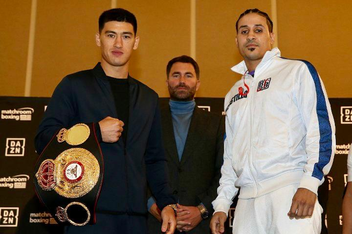 Bivol and Lenin face to face in Chicago