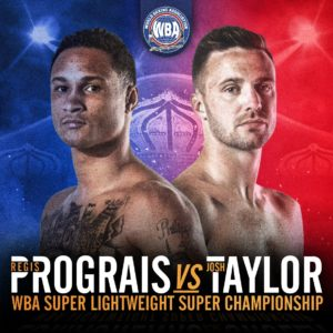 Prograis and Taylor fight for the WBA Super Title and WBSS Ali Trophy