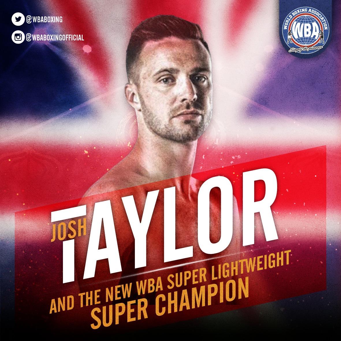 Josh Taylor dominó a Prograis y tomó la corona AMB