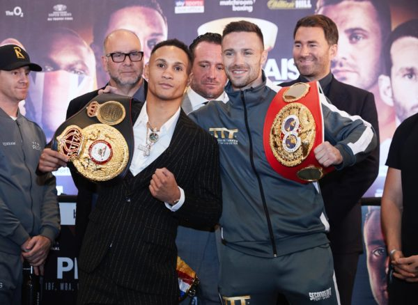Prograis and Taylor go face-to-face at final press conference