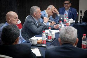 Mendoza held meeting with WBA Directorate members