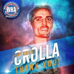 Anthony Crolla says goodbye this Saturday in Manchester with a victory