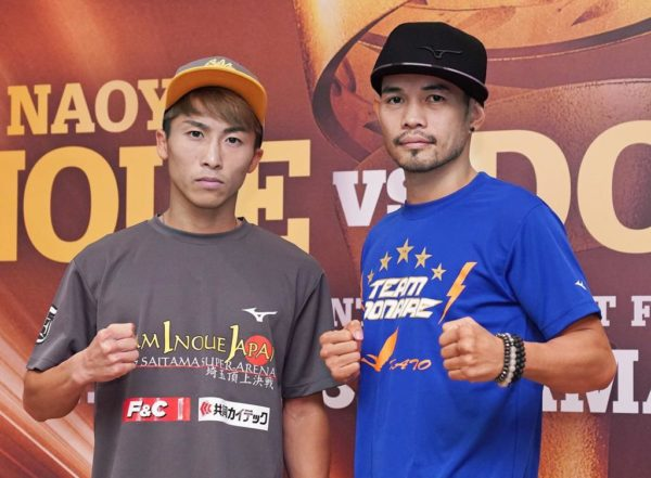 Naoya Inoue and Nonito Donaire pass medical check-up