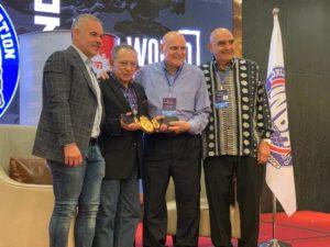 WBA recognized the trajectory of Carlos Irusta in Fuzhou