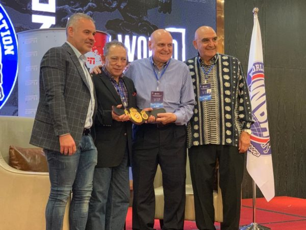 WBA recognized the trajectory of Carlos Irusta in Fuzhou