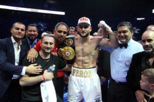 Goulamirian scores 4th round knockout to retain WBA Super Title