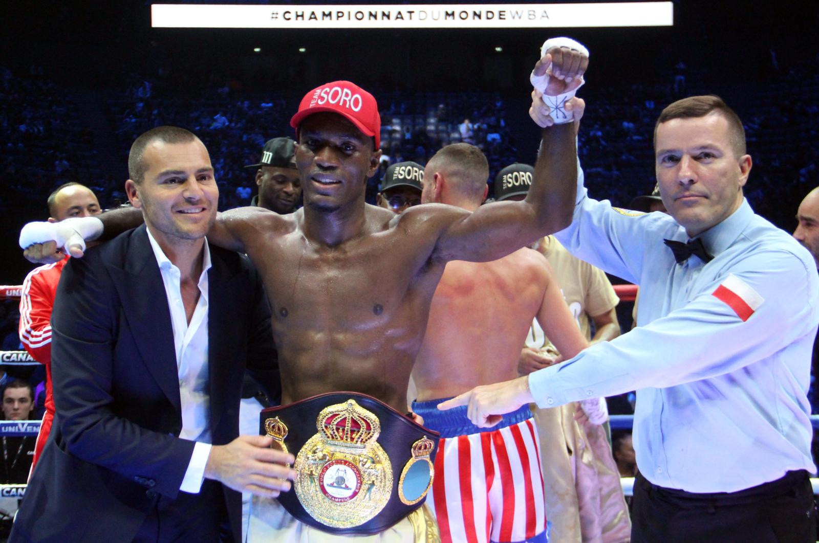 Michel Soro sigue como campeón Gold con triunfo ante Vitu