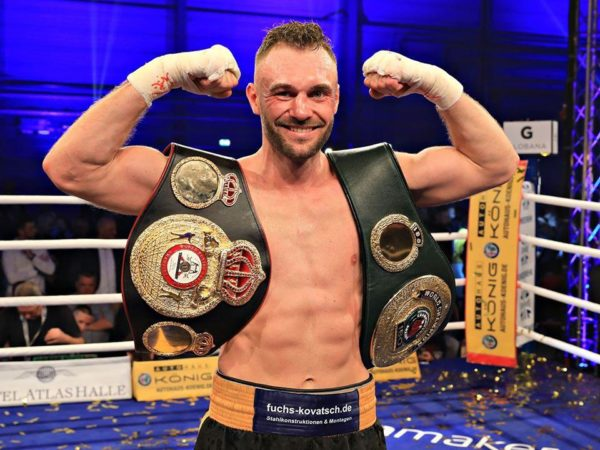 Boesel knocked out Fornling and captured the WBA Light Heavy interim Title