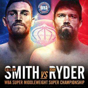 Callum Smith defends against John Ryder this Saturday