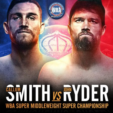 Callum Smith defends against John Ryder this Saturday
