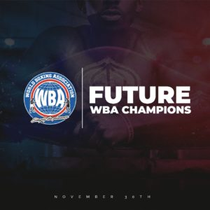 12 matches at the WBA Future Champions event in Florida
