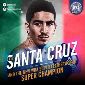 Santa Cruz grabs his 4th divisional World Title with the WBA belt