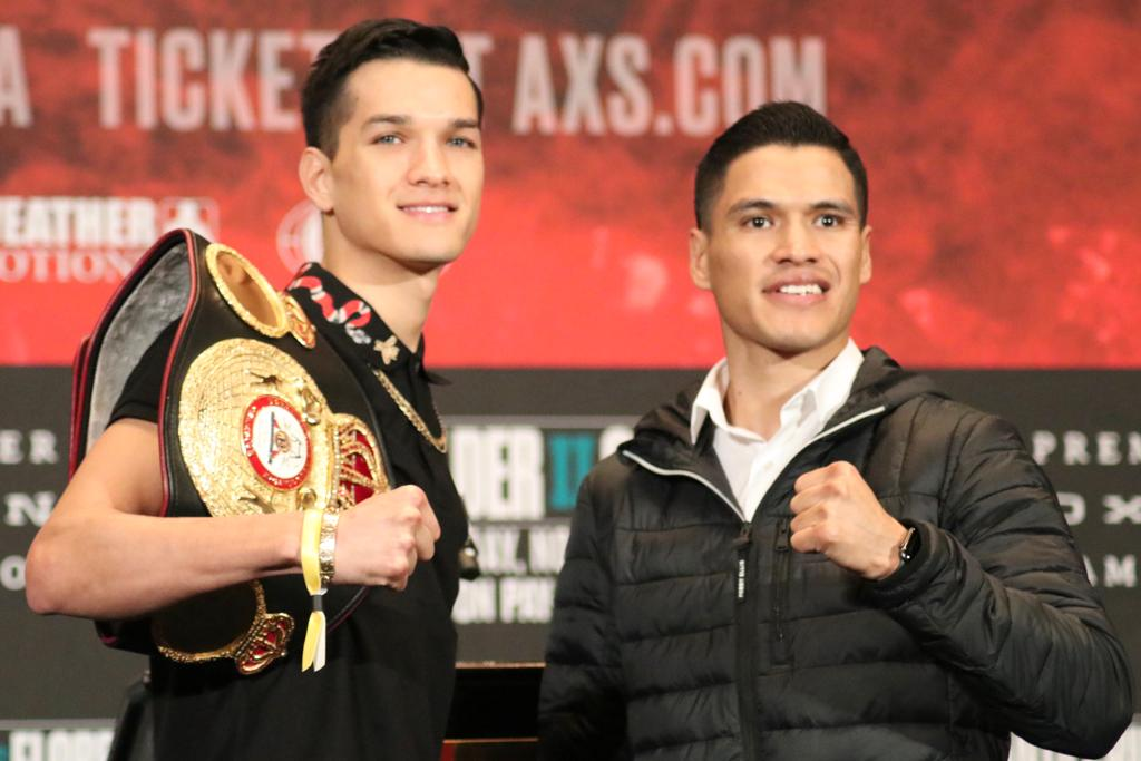 Brandon Figueroa and Julio Ceja held their final press conference