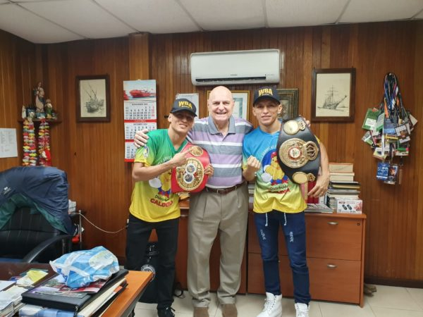 Rene Alvarado was received by Renzo Bagnariol in Nicaragua