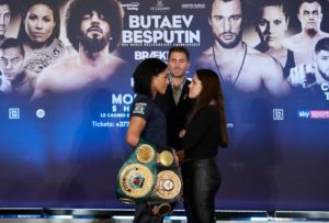 Braekhus and Bustos held their last press conference