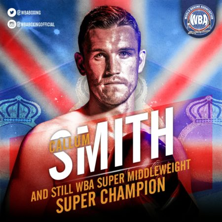 Smith retains his WBA Super Title with decision over Ryder