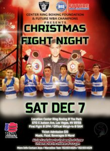 Live: Christmas Fight Night – Future WBA Champions