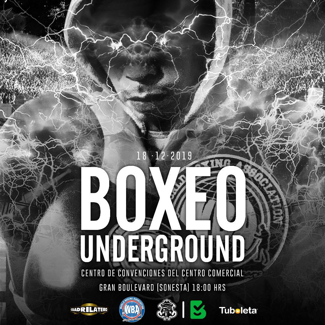 Video del pesaje: Boxeo Underground