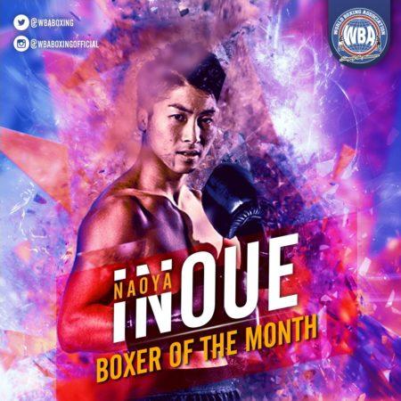 Naoya Inoue- Boxeador del mes de noviembre 2019