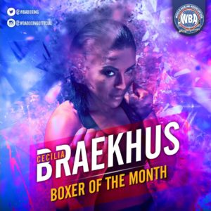 WBA Female November Rankings and Boxer of the Month