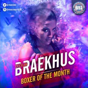 Braekhus volvió con todo y es la Peleadora del Mes