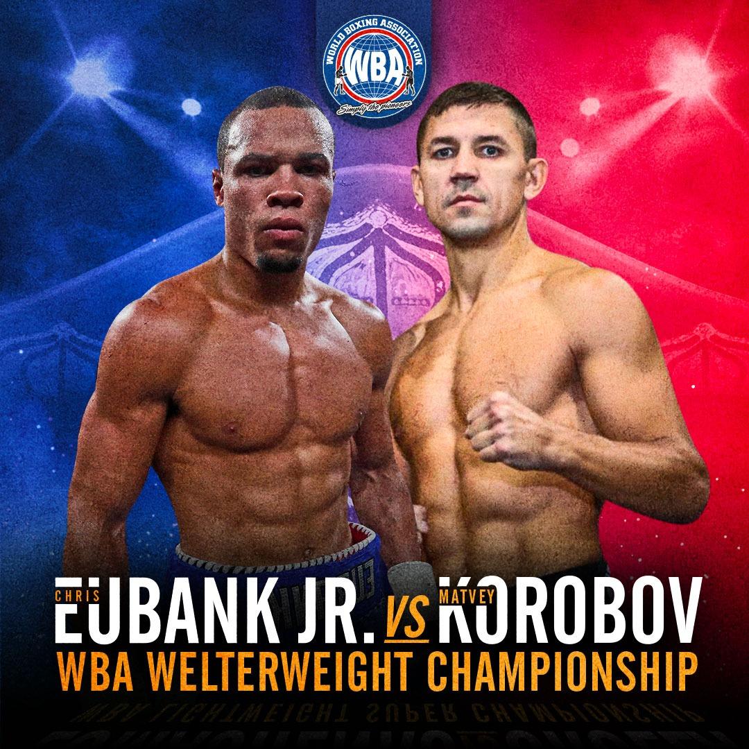 Eubank vs Korobov for the WBA Interim Middleweight Title in Brooklyn