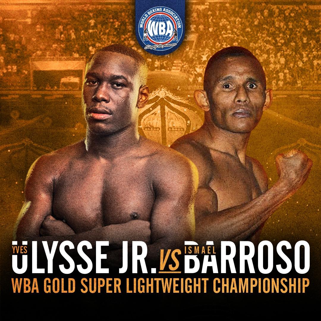 Ulysse Jr. se enfrenta a Barroso por el título Gold este jueves