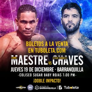 """""""Doble Impacto"""" will paralyze Barranquilla with Maestre-Chaves as main event"""