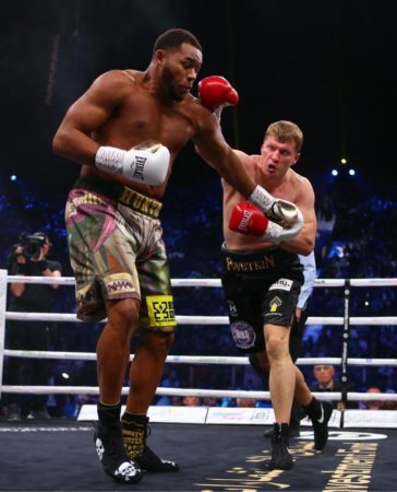 Povetkin y Hunter empataron en eliminatoria AMB