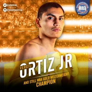 Ortiz Jr. TKO's Solomon to retain his WBA belt