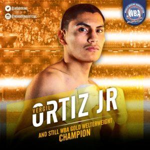 Ortiz Jr. TKO's Solomon to retain his WBA belt