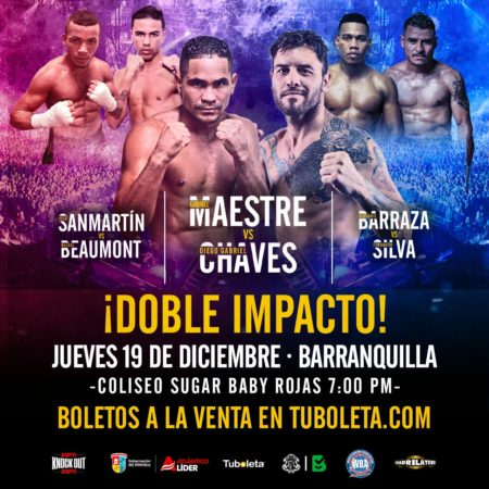 """Maestre-Chaves ready for """"Double Impact"""""""