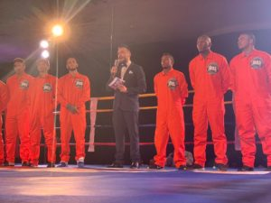 Underground Boxing starts in style in Barranquilla