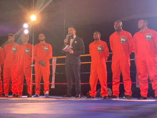 Underground Boxing starts in style in Barranquilla