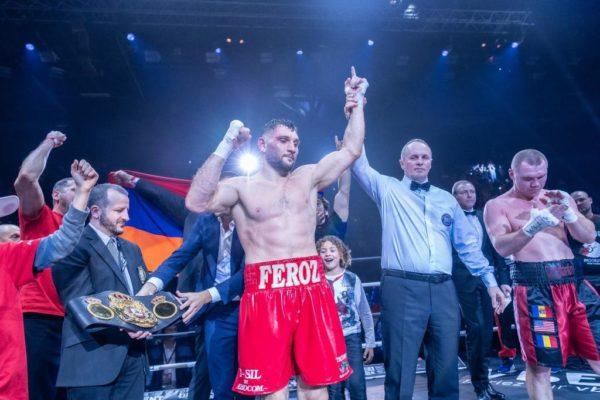Goulamirian retains his belt against Bejenaru