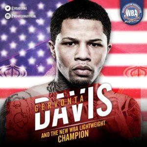 Davis wins WBA Lightweight Title with 12th round TKO of Gamboa